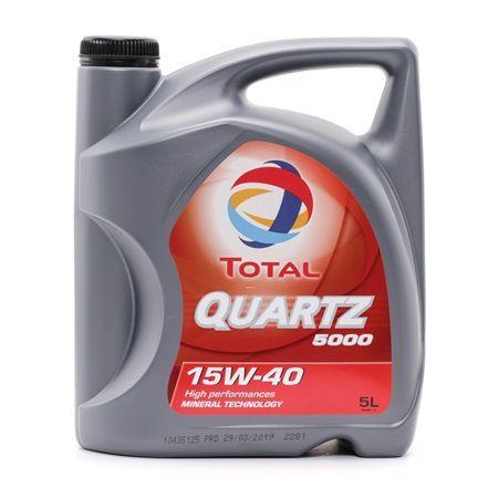 Qualitäts Öl von TOTAL 3425900000368 15W-40, 5l, Mineralöl