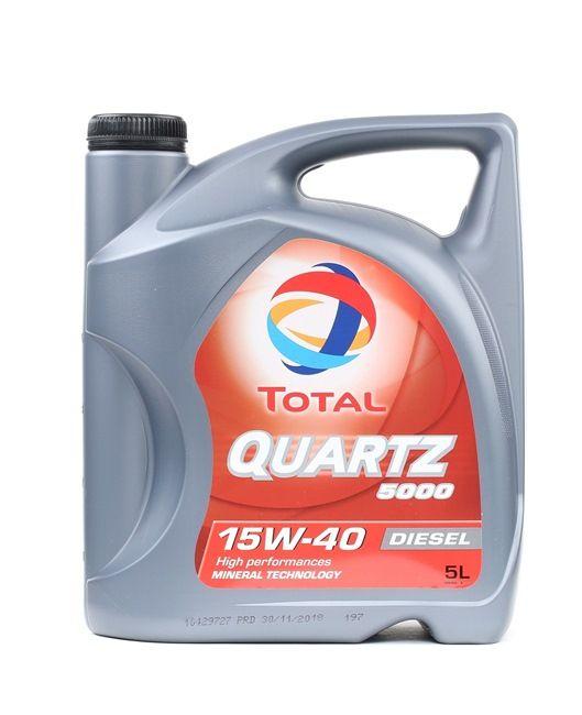 Qualitäts Öl von TOTAL 3425900000795 15W-40, 5l, Mineralöl
