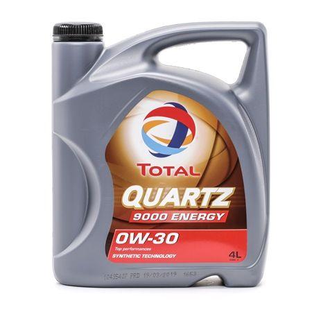 Qualitäts Öl von TOTAL 3425901018003 0W-30, 4l, Synthetiköl