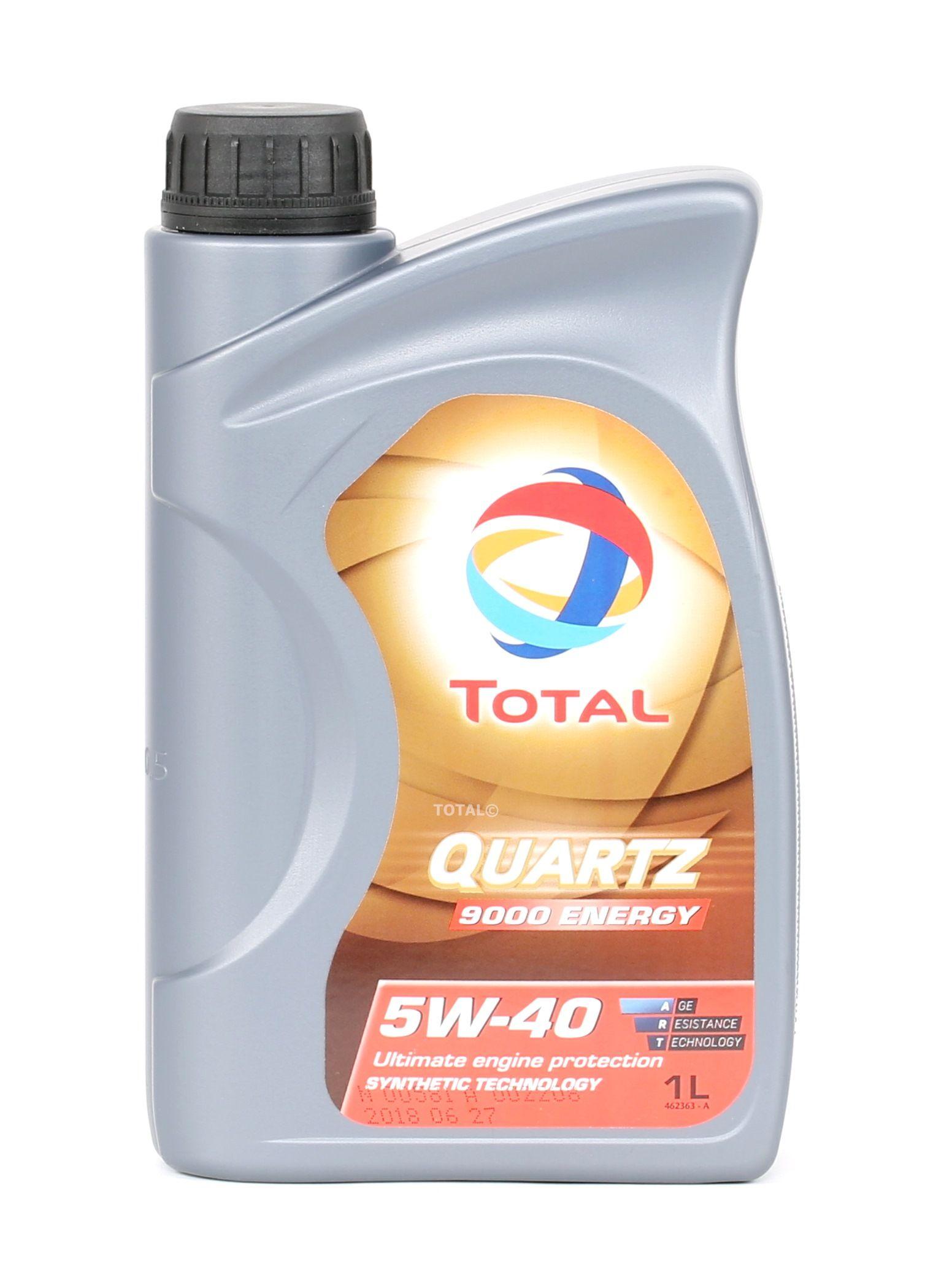 2198276 TOTAL Quartz, 9000 Energy 5W-40, 1l, Óleo sintético Óleo do motor 2198276 comprar económica