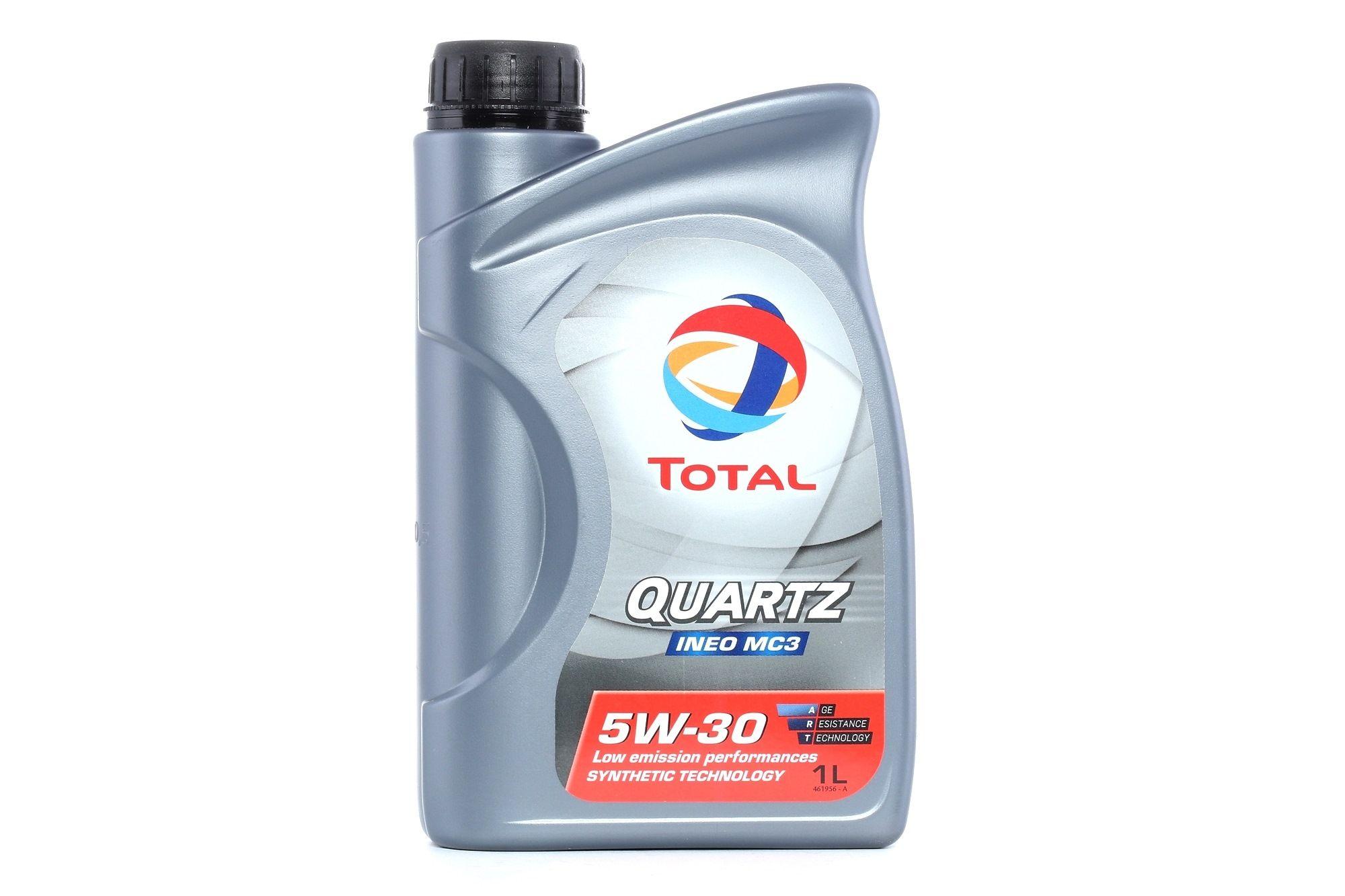0501CA224CJ1468548 TOTAL Quartz, INEO MC3 5W-30, 1l, Óleo sintético Óleo do motor 2166254 comprar económica