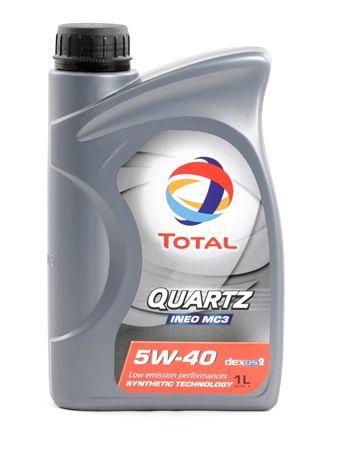 Купете P000322 TOTAL Quartz, INEO MC3 5W-40, 1литър, Масло напълно синтетично Двигателно масло 2174776 евтино