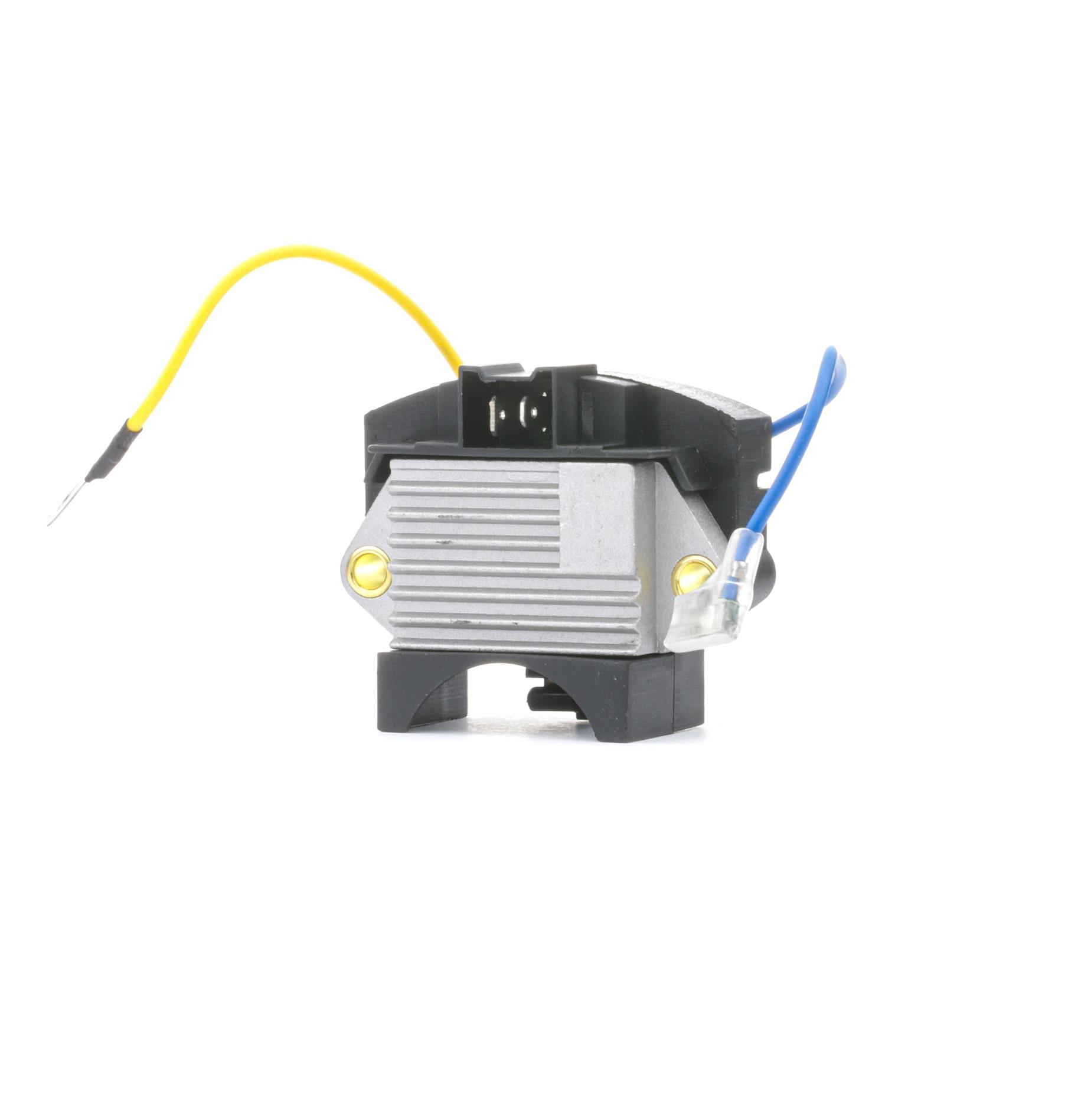 RIDEX: Original Regler Lichtmaschine 288R0004 (Nennspannung: 12V, Betriebsspannung: 14,4V)