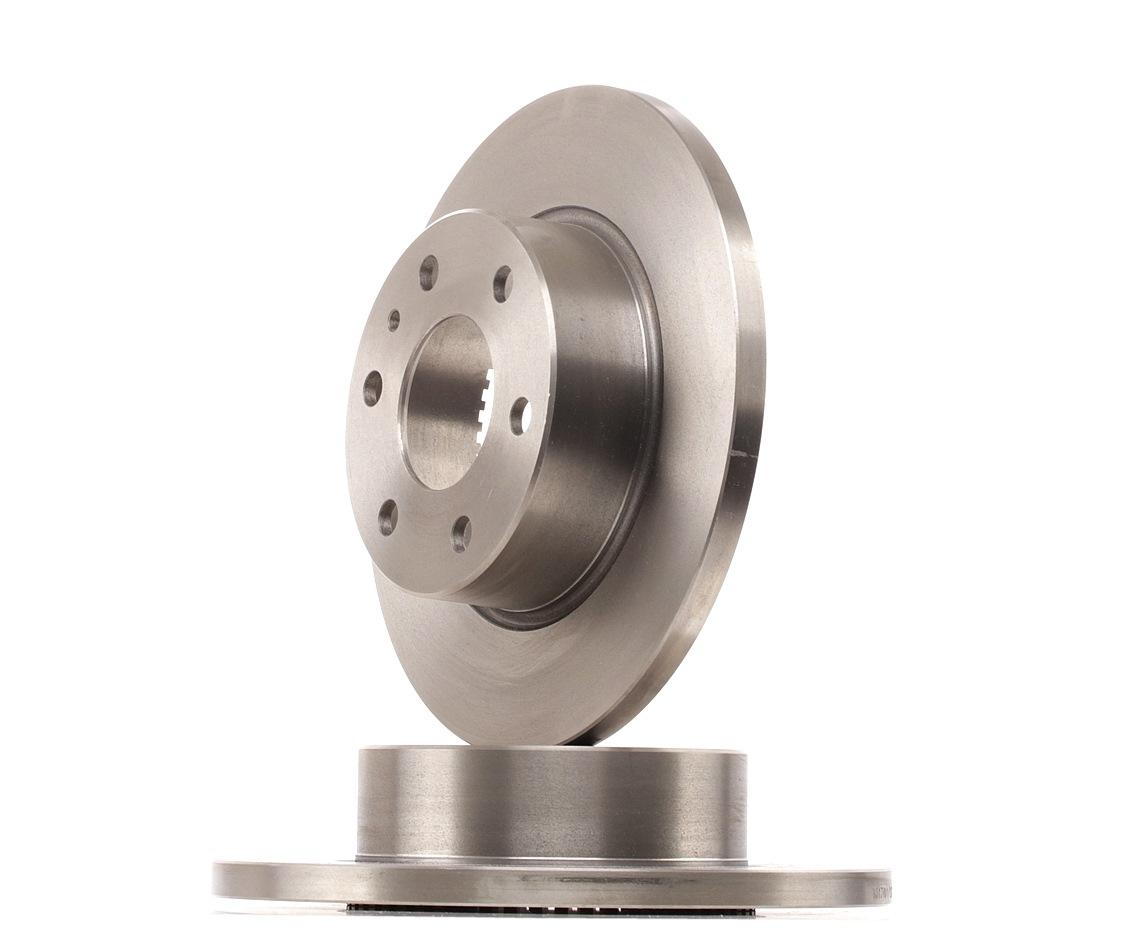 RIDEX: Original Bremsscheibe 82B1656 (Ø: 296mm, Bremsscheibendicke: 16mm)