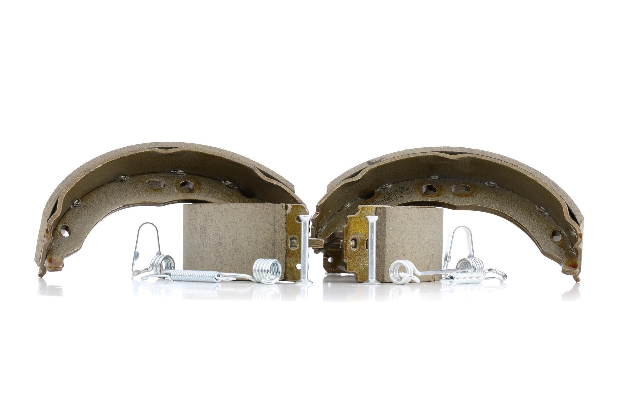 RIDEX: Original Bremsbacken für Trommelbremse 70B0331 (Breite: 42mm)