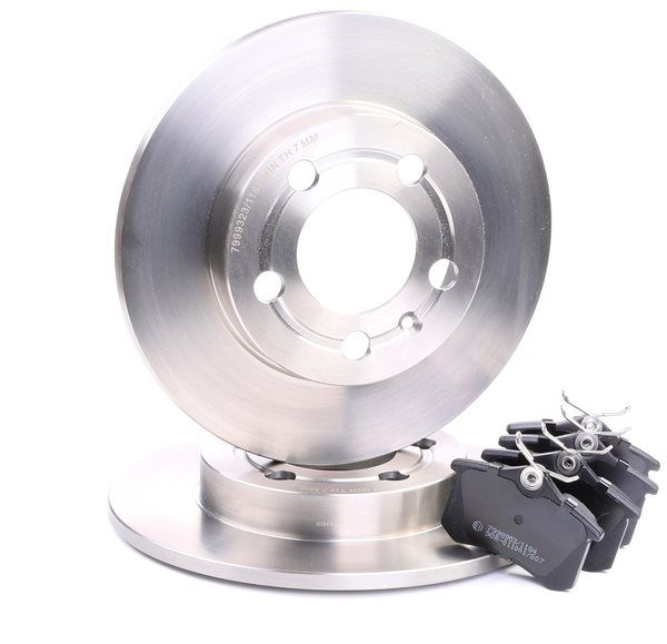 RIDEX: Original Bremsscheiben und Bremsbeläge 3405B0288 (Bremsscheibendicke: 9mm)