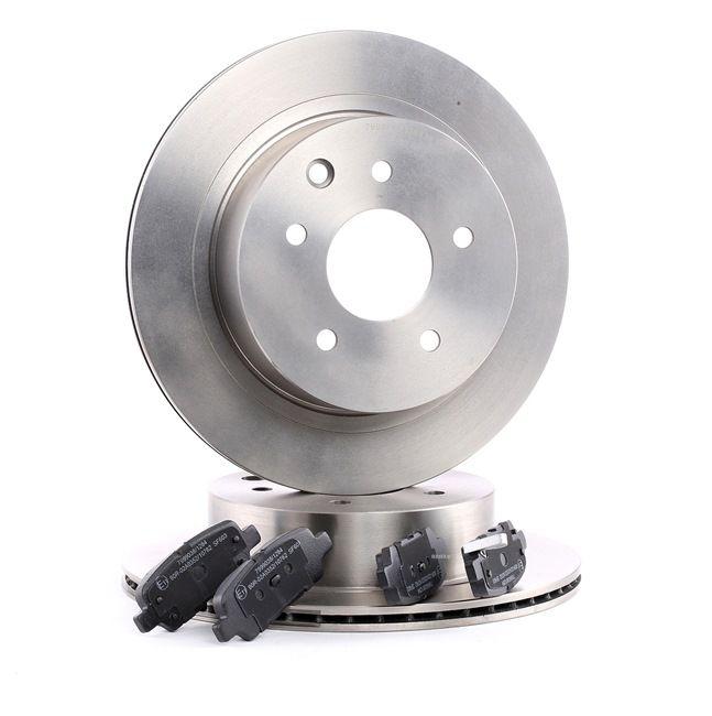 Bremsbelagsatz Scheibenbremse FERODO FDB1263
