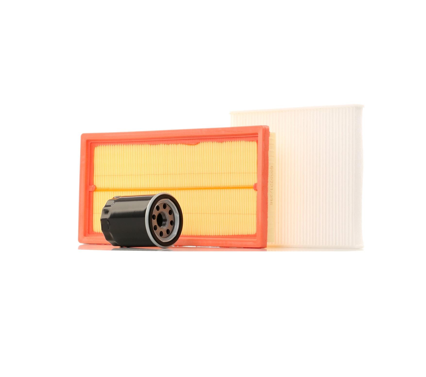 4055F0143 RIDEX mit Luftfilter, ohne Ölablassschraube Filter-Satz 4055F0143 günstig kaufen