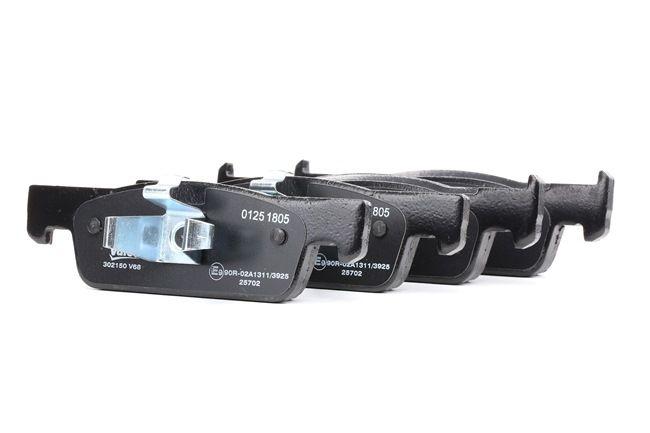 VALEO: Original Bremsklötze 302150 (Höhe 2: 39,9mm, Höhe: 41,7mm, Breite: 140,1mm, Dicke/Stärke: 18mm)