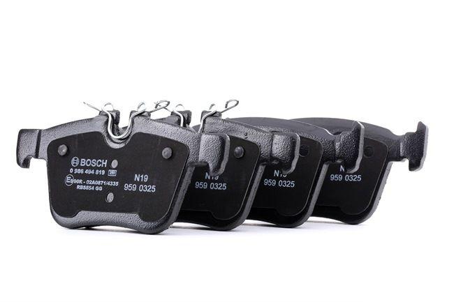 Bremsbeläge 0 986 494 819 XE (X760) 2.0 241 PS Premium Autoteile-Angebot