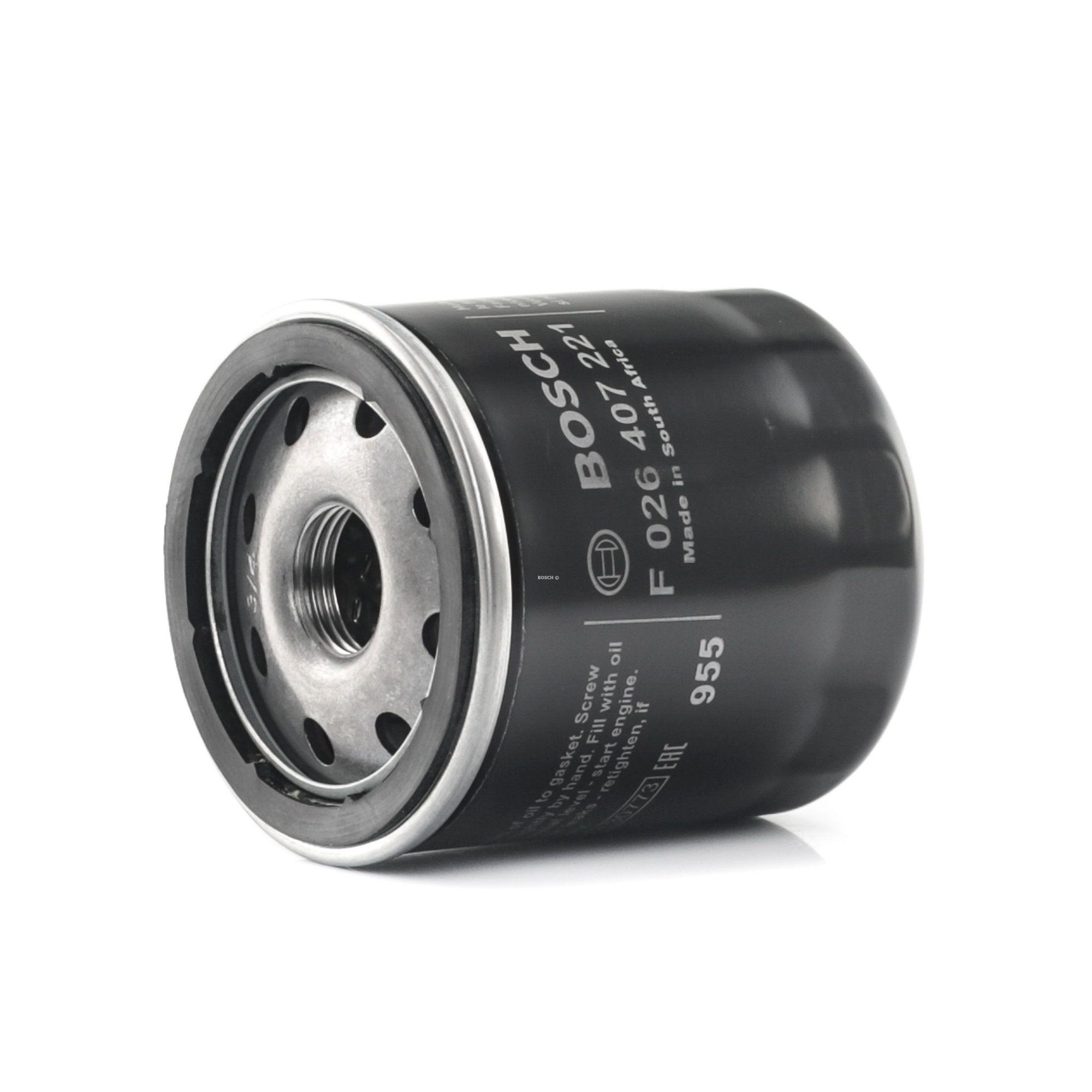 Filtro olio motore F 026 407 221 con un ottimo rapporto BOSCH qualità/prezzo