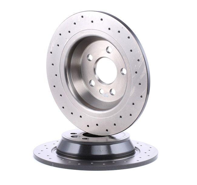 revêtements de plaquettes de freins avant @ Ford Mondeo IV 4 Frein Disques de frein