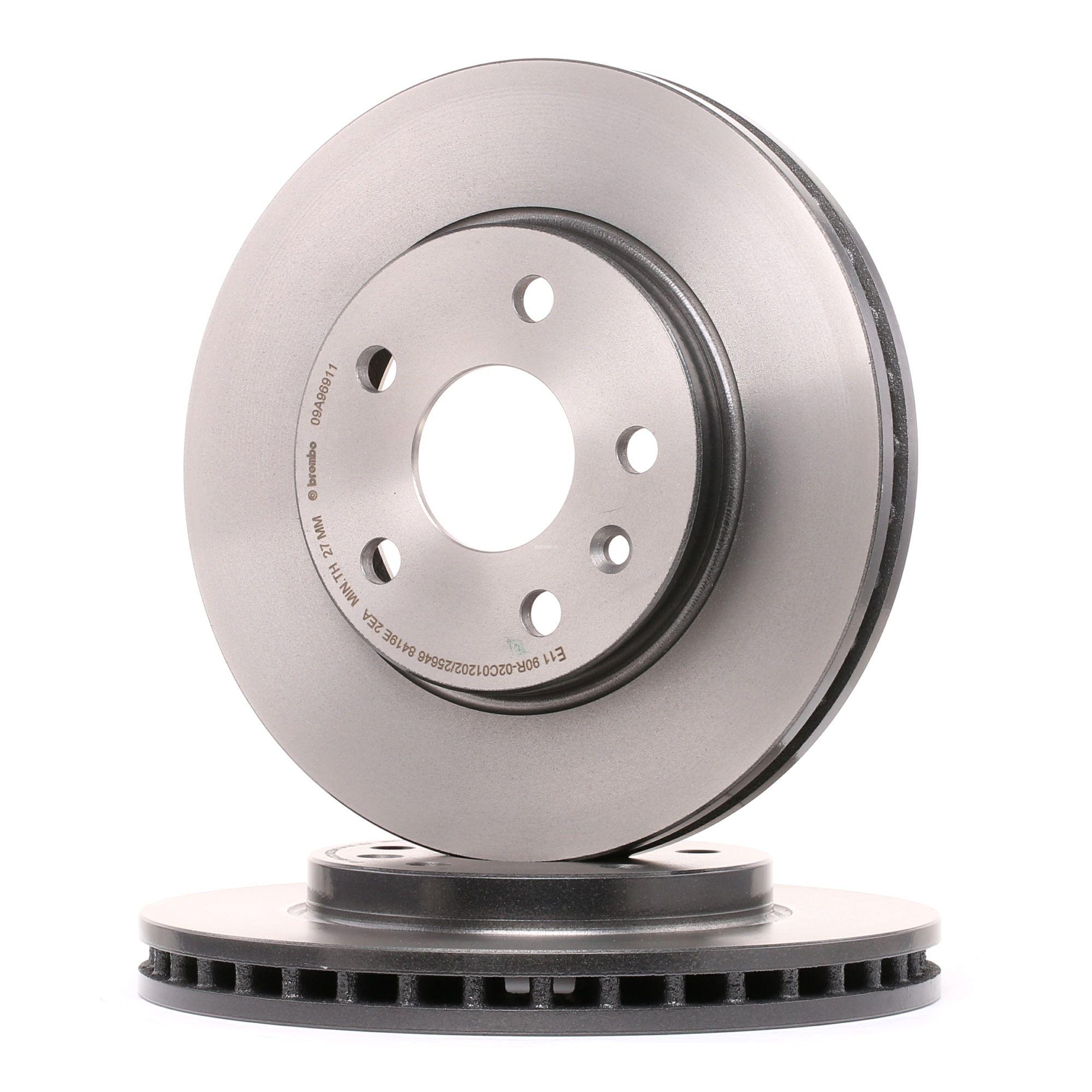 BREMBO: Original Tuning 09.A969.11 (Ø: 296mm, Lochanzahl: 5, Bremsscheibendicke: 30mm)