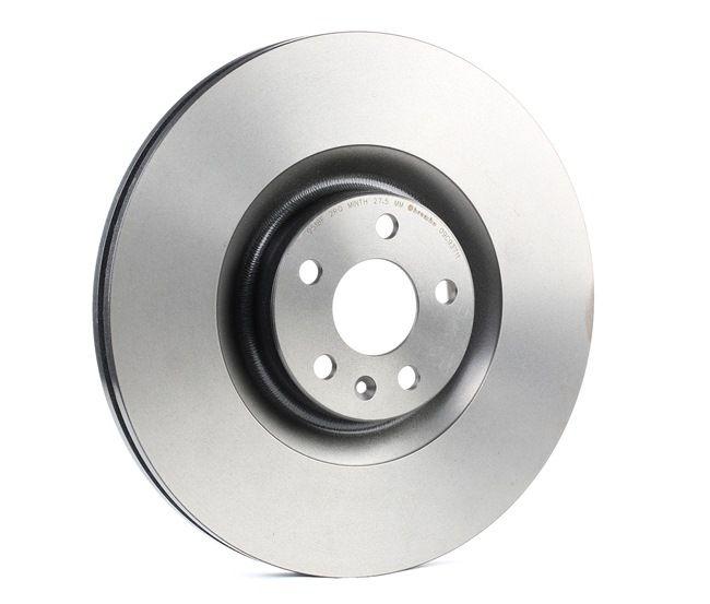 09.C937.11 BREMBO COATED DISC LINE Innenbelüftet, beschichtet, hochgekohlt Ø: 366mm, Lochanzahl: 5, Bremsscheibendicke: 30mm Bremsscheibe 09.C937.11 günstig kaufen