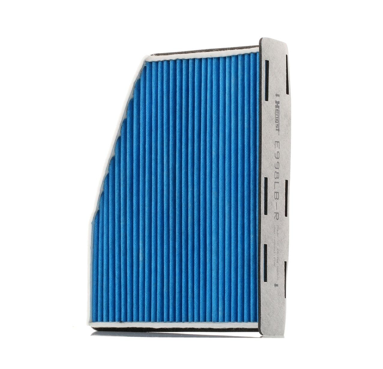 7515310000 HENGST FILTER mit antibakterieller Wirkung Breite: 215mm, Höhe: 57mm, Länge: 286mm Filter, Innenraumluft E998LB-R günstig kaufen