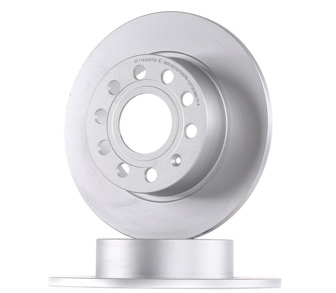 VW Disque de frein d'Origine 1163205700