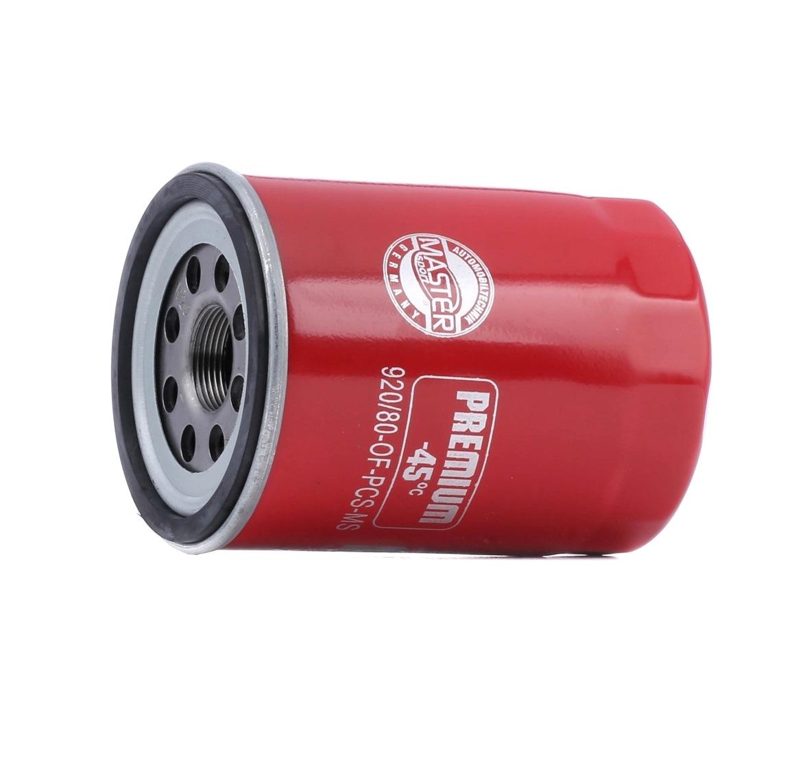 Achetez des Filtre à huile MASTER-SPORT 920/80-OF-PCS-MS à prix modérés