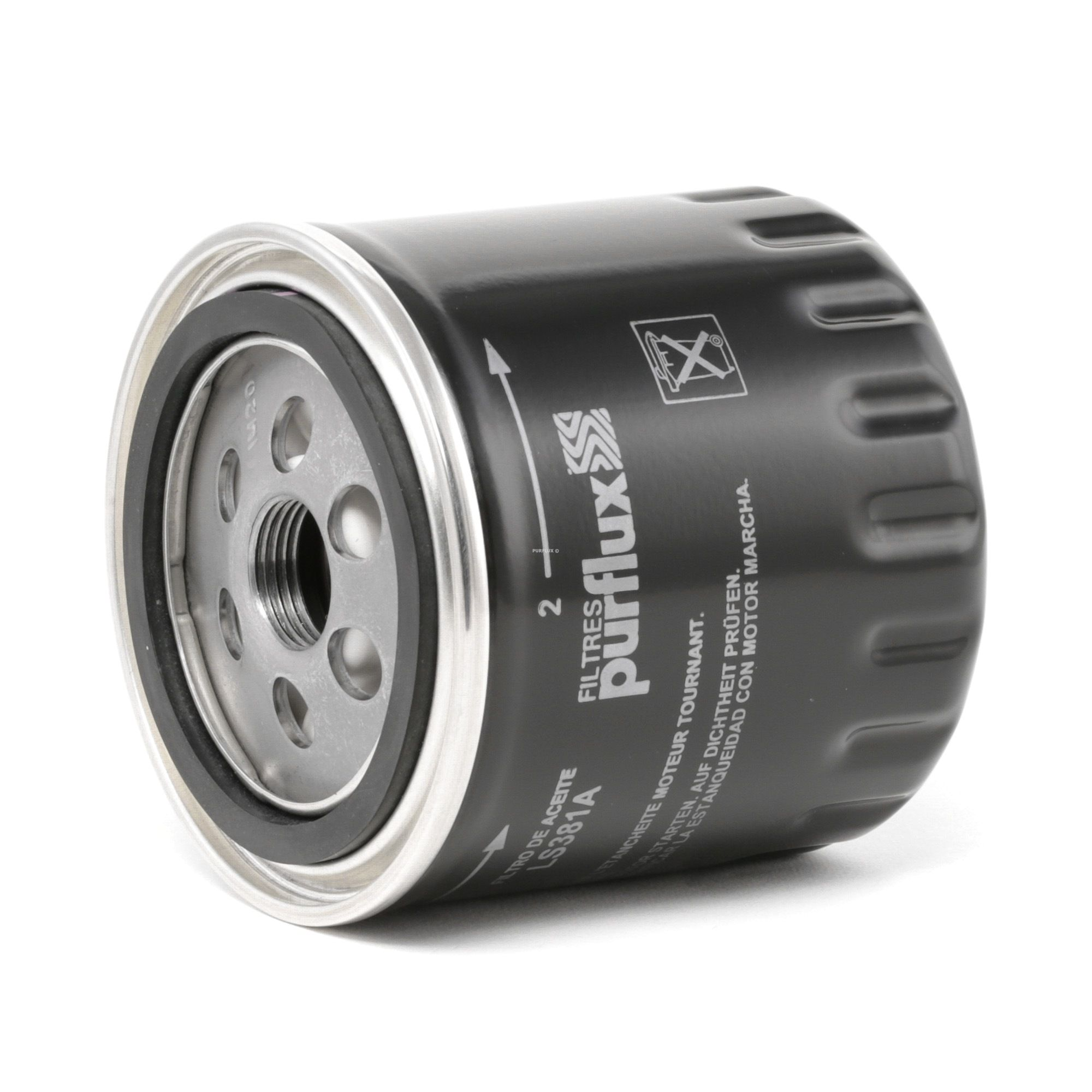 Origine Filtre à huile PURFLUX LS381A (Ø: 86mm, Hauteur: 89mm)