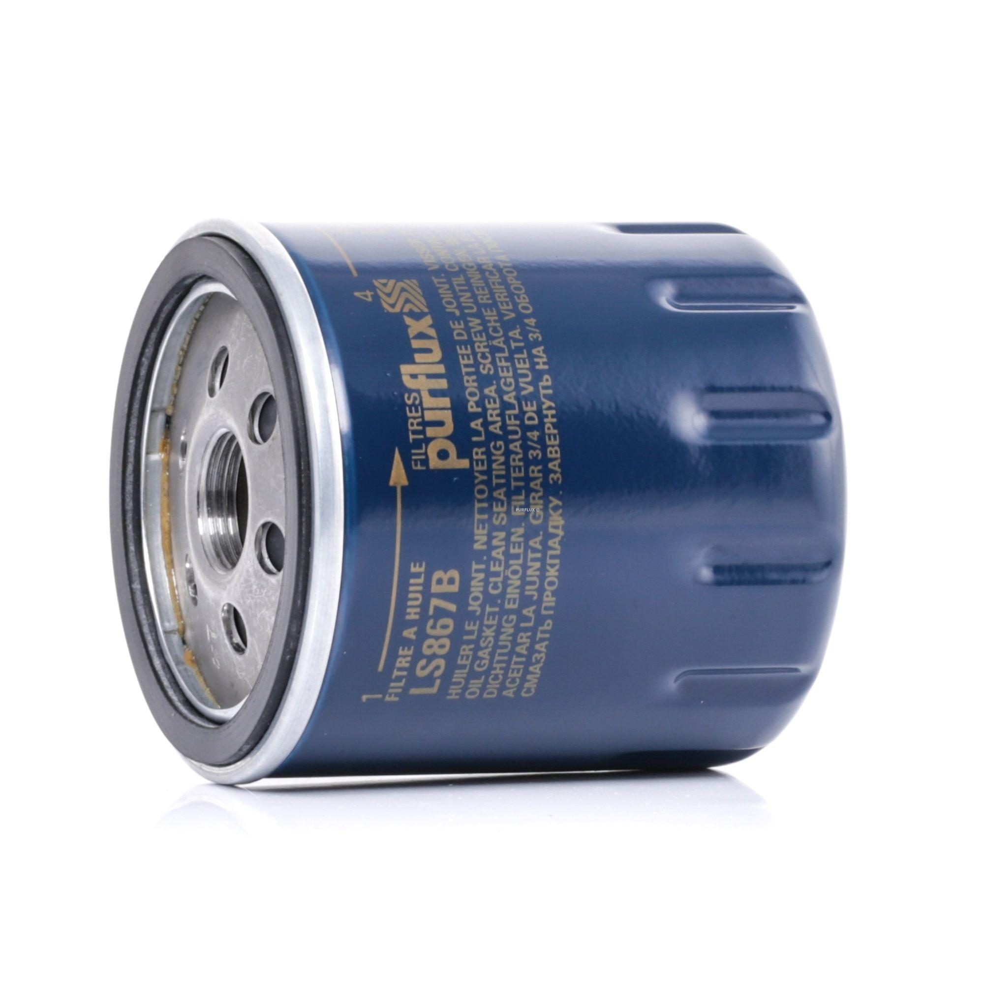 Pieces detachees PEUGEOT J9 1987 : Filtre à huile PURFLUX LS867B Ø: 76mm, Hauteur: 85mm - Achetez tout de suite!
