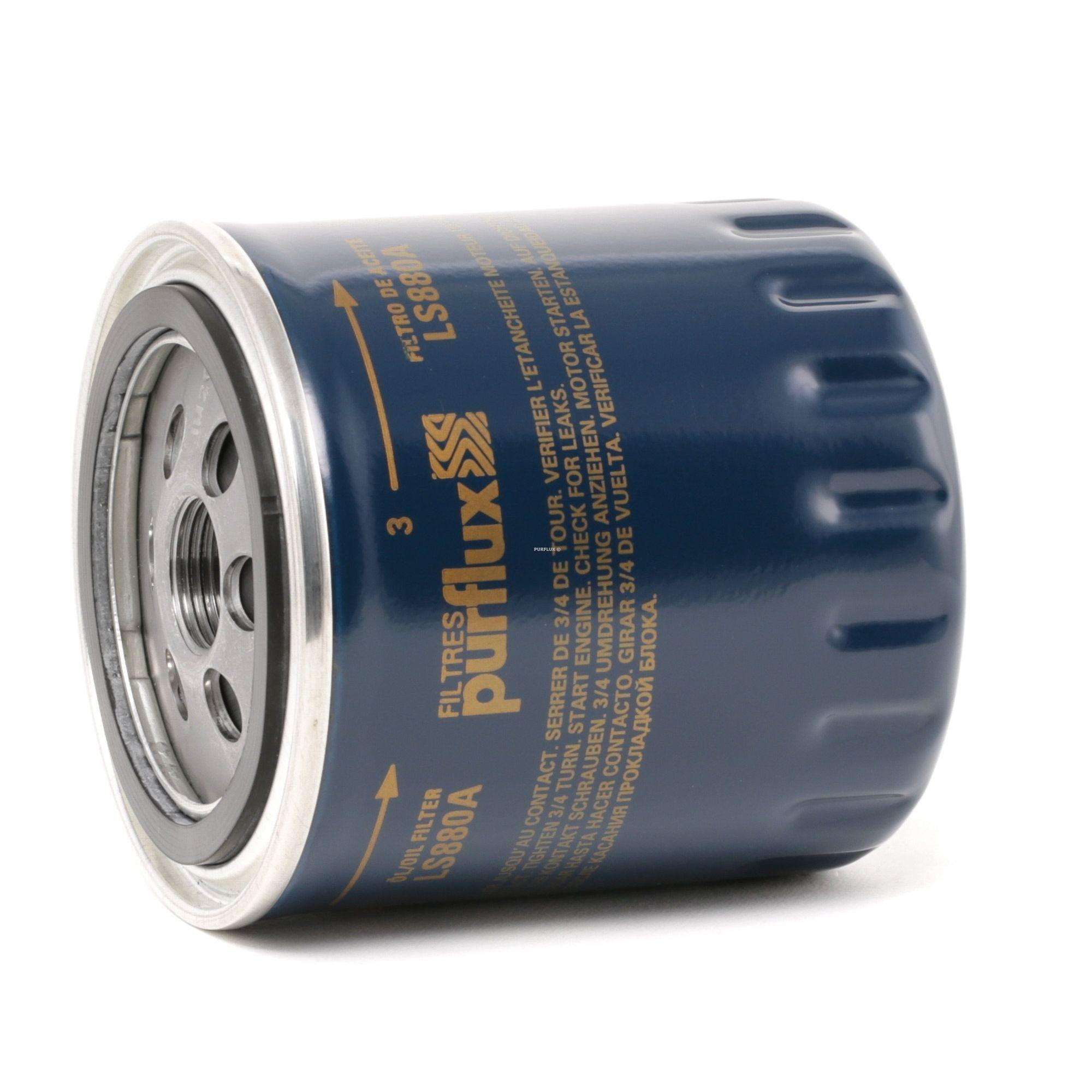 Origine Filtre à huile PURFLUX LS880A (Ø: 86mm, Hauteur: 98mm)