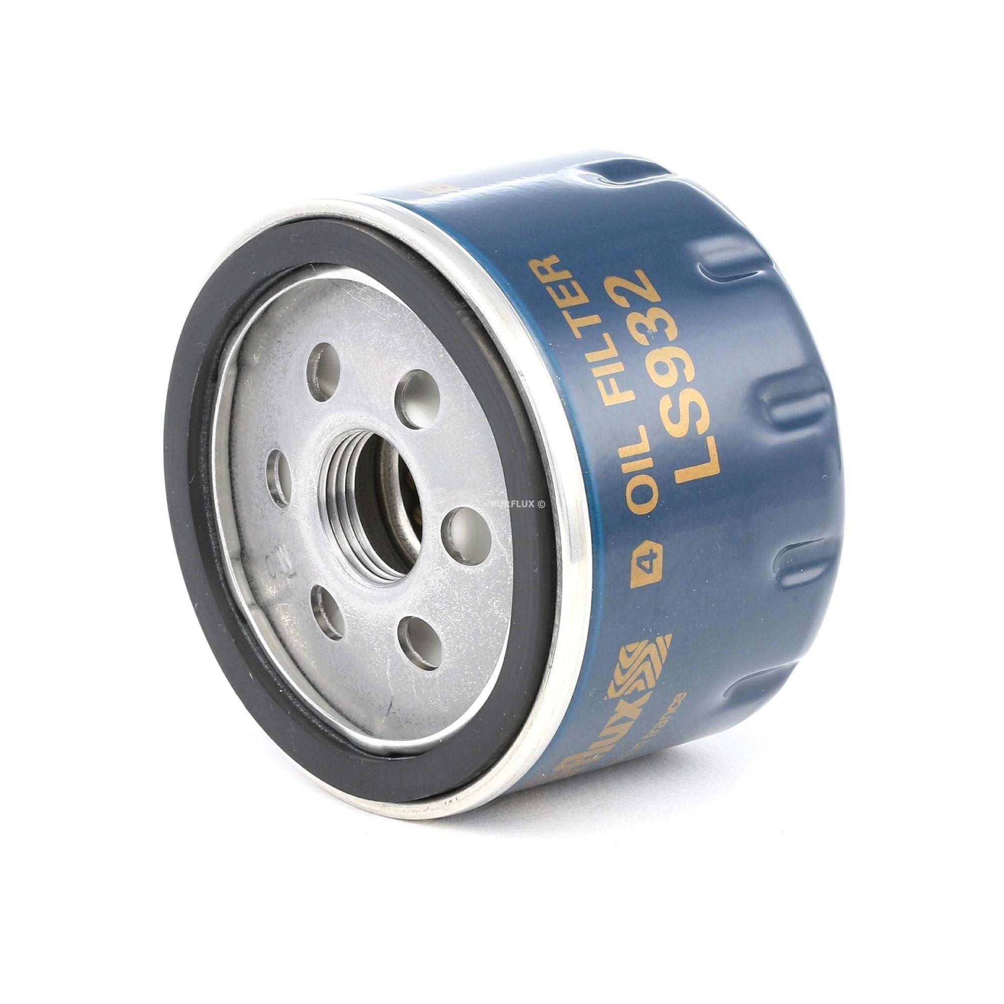 Achat de LS932 PURFLUX Filtre vissé Ø: 76mm, Hauteur: 54mm Filtre à huile LS932 pas chères