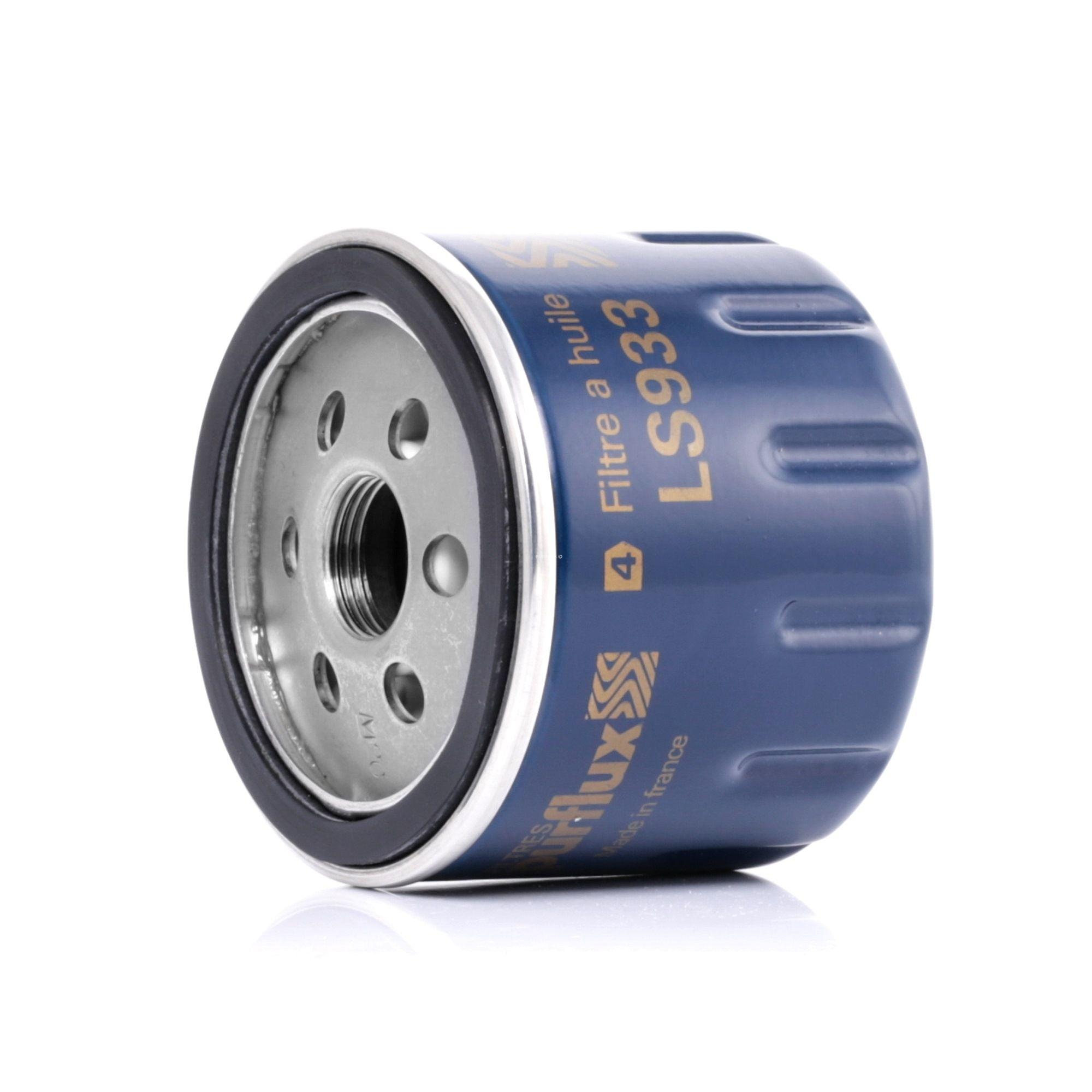 Pieces d'origine: Filtre à huile PURFLUX LS933 (Ø: 76mm, Hauteur: 63mm) - Achetez tout de suite!