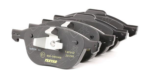TEXTAR Σετ τακάκια, δισκόφρενα 2372301