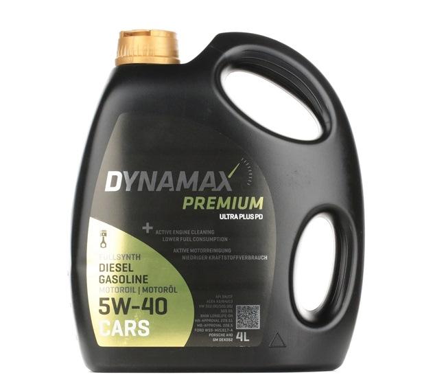 originali DYNAMAX Olio motore per auto 8586016013088 5W-40, 4l, Olio sintetico