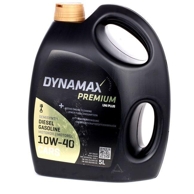 DYNAMAX Premium, Uni Plus Motoröl 10W-40, 5l, Teilsynthetiköl 501962