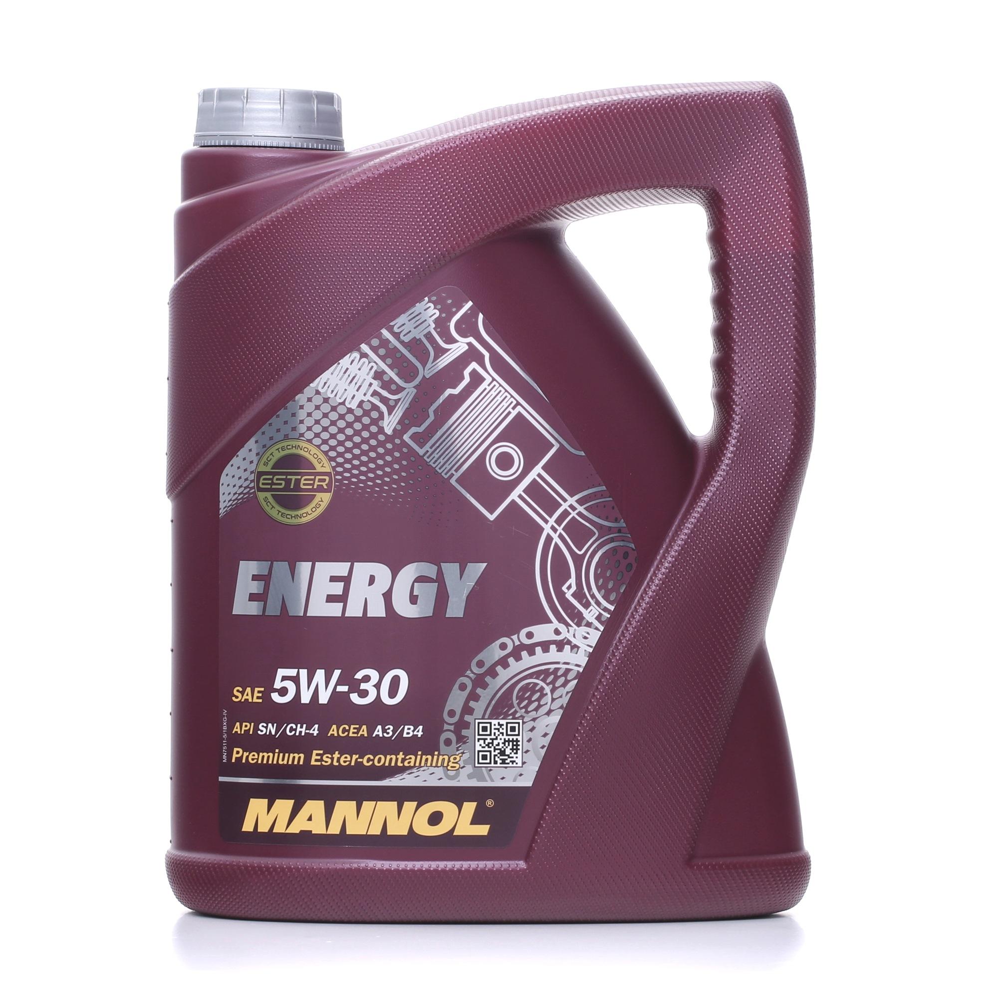 Achetez Huile moteur MANNOL MN7511-5 () à un rapport qualité-prix exceptionnel
