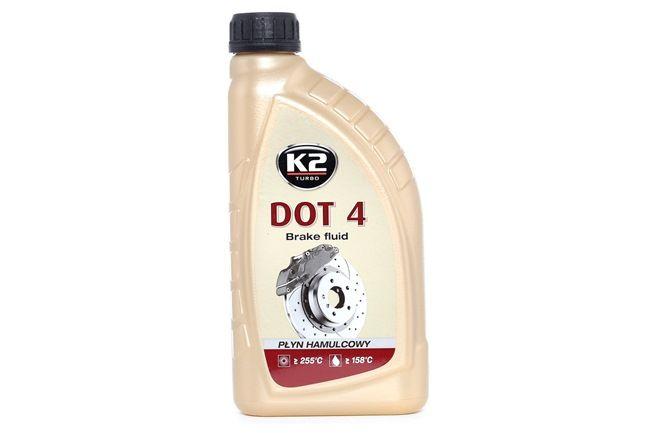 K2 DOT 4 Bremsflüssigkeit 1l T108