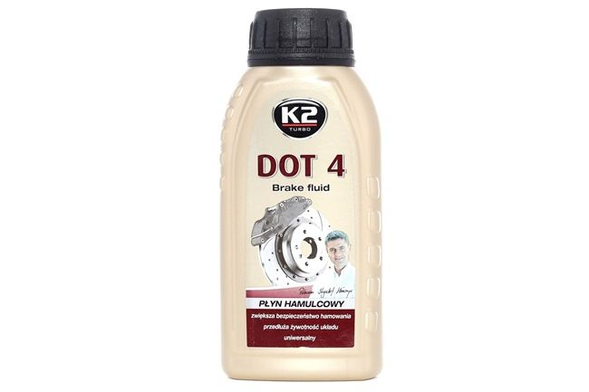 K2 DOT 4 Brake Fluid Contents: 250ml T124