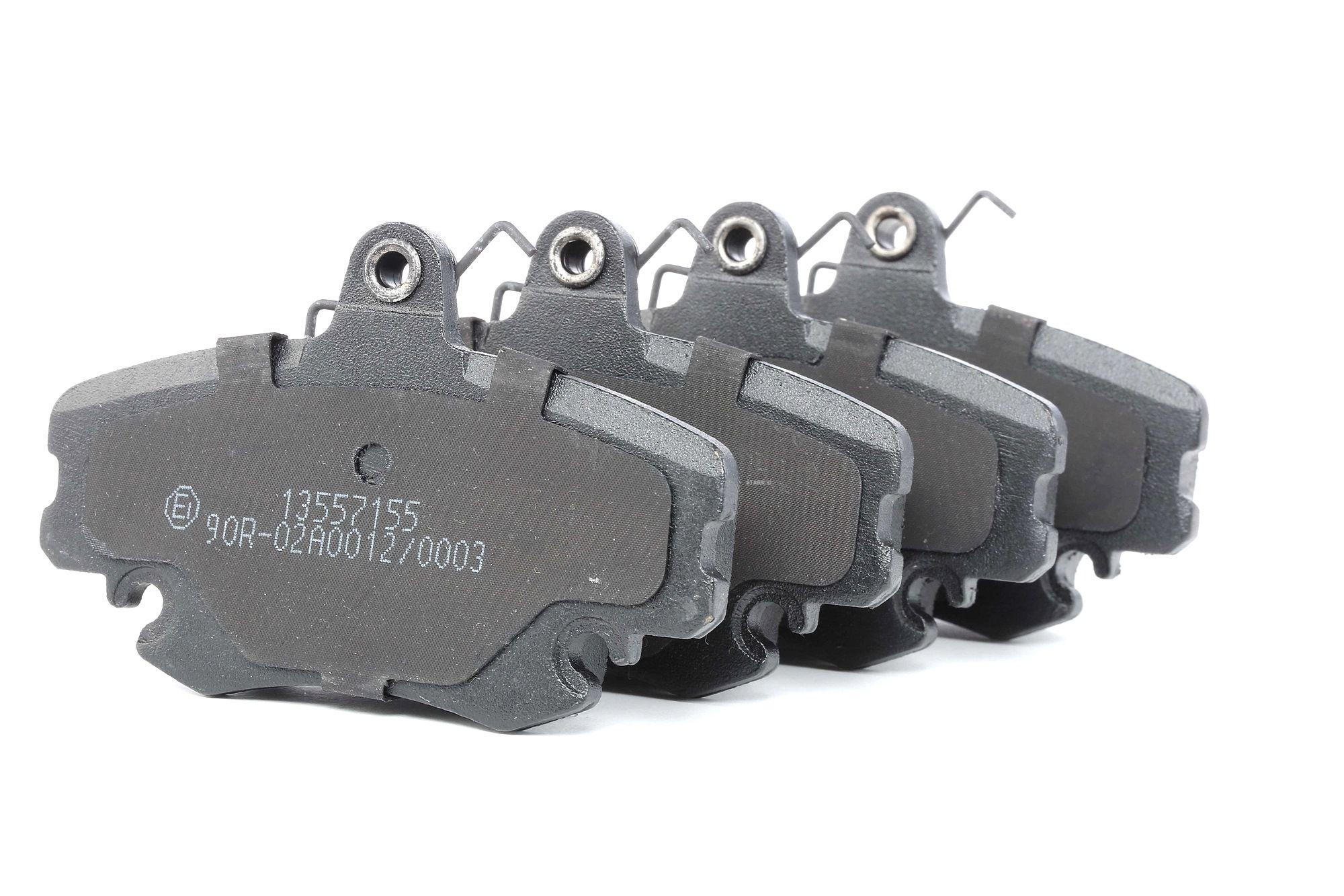 SKBP-0011878 STARK Vorderachse, exkl. Verschleißwarnkontakt Höhe: 64,8mm, Breite: 100,1mm, Dicke/Stärke: 18,2mm Bremsbelagsatz, Scheibenbremse SKBP-0011878 günstig kaufen