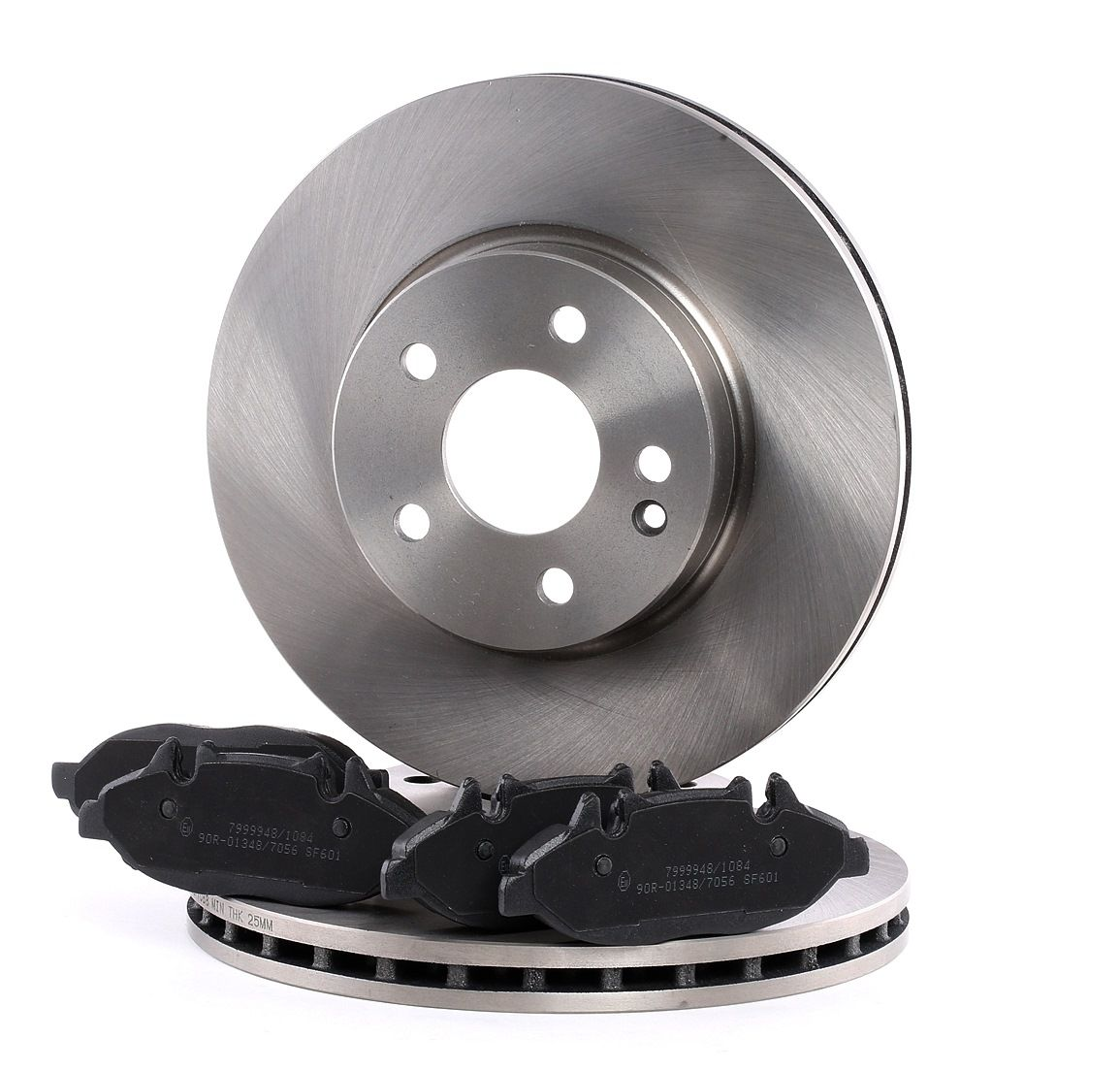 RIDEX: Original Bremsen Set 3405B0136 (Bremsscheibendicke: 28mm)