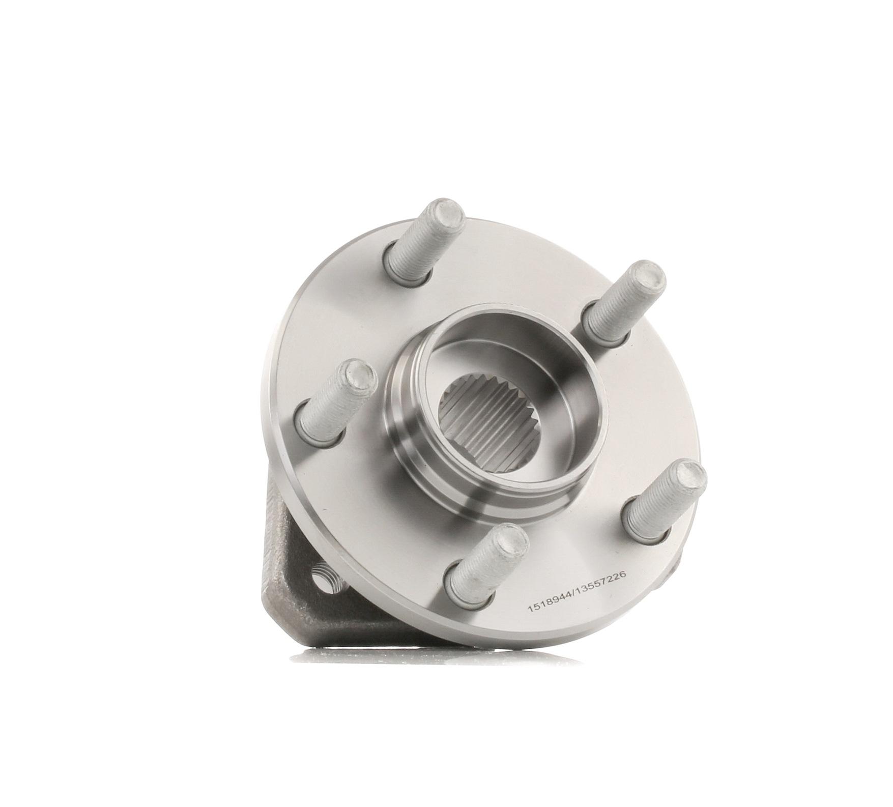 654W0835 RIDEX Radlagersatz für MERCEDES-BENZ AROCS jetzt kaufen