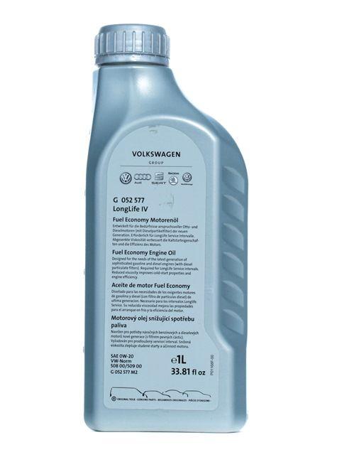 0W 20 Auto Öl - G 055577M2 von VAG im Online-Shop billig bestellen