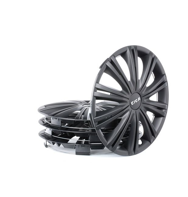13 GIGA BLACK Wheel covers Wheel Diameter: 13Inch, Black from ARGO at low prices - buy now!