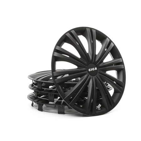 14 GIGA BLACK Wheel covers Black, 14Inch from ARGO at low prices - buy now!