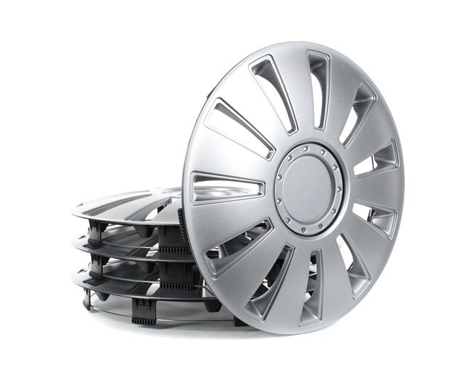 14 SILVERSTONE Wheel covers Wheel Diameter: 14Inch, Silver from ARGO at low prices - buy now!