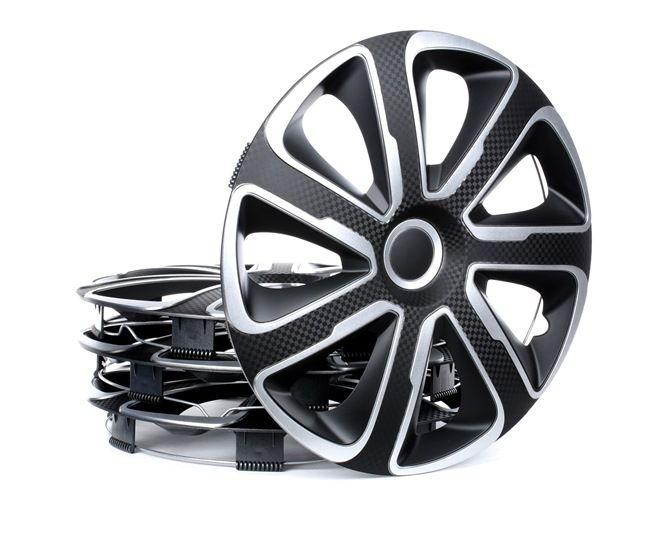 15 LIVORNO CARBON S&B Pokrovi platišč črna/srebrna, Ogljena barva, 15Cola od ARGO po nizkih cenah - kupite zdaj!