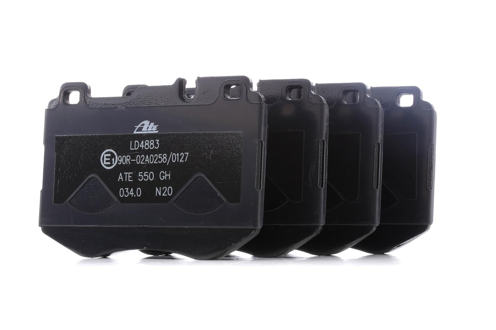 MERCEDES-BENZ GLC 2020 Tuning - Original ATE 13.0470-4883.2 Höhe: 92,1mm, Breite: 127,5mm, Dicke/Stärke: 18,7mm