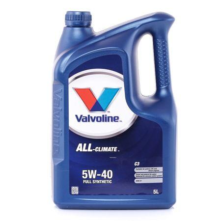 Qualitäts Öl von Valvoline 8710941021577 5W-40, 5l, Synthetiköl