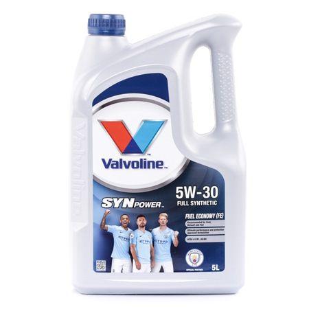 Qualitäts Öl von Valvoline 8710941011042 5W-30, 5l, Synthetiköl