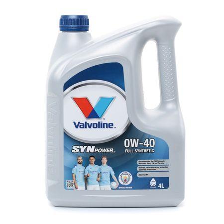 Qualitäts Öl von Valvoline 8710941112275 0W-40, 4l, Synthetiköl
