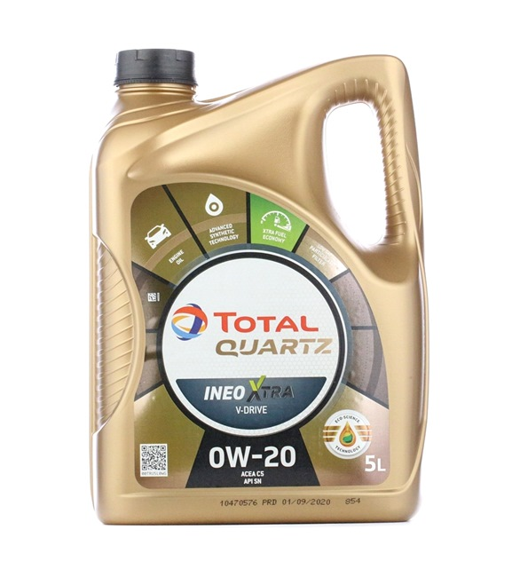 Qualitäts Öl von TOTAL 3425901048079 0W-20, 5l, Synthetiköl