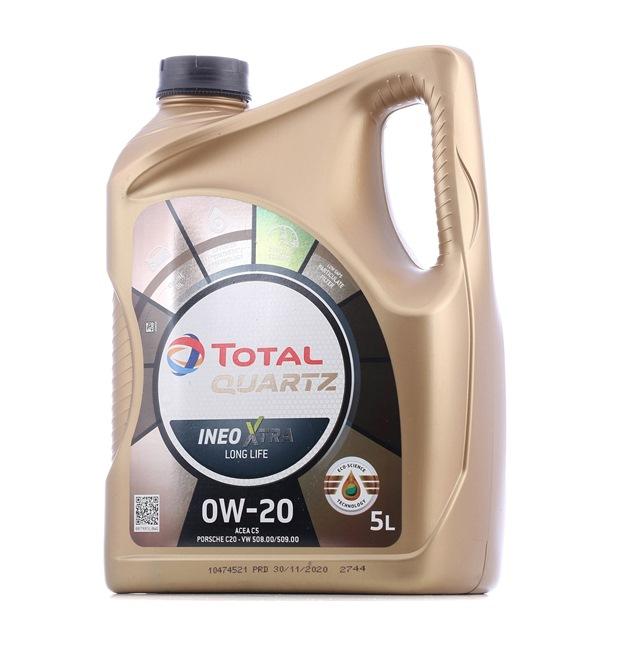Qualitäts Öl von TOTAL 3425901093253 0W-20, 5l, Synthetiköl