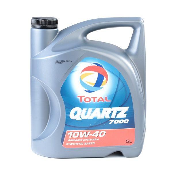 Qualitäts Öl von TOTAL 3425900000344 10W-40, 5l, Teilsynthetiköl