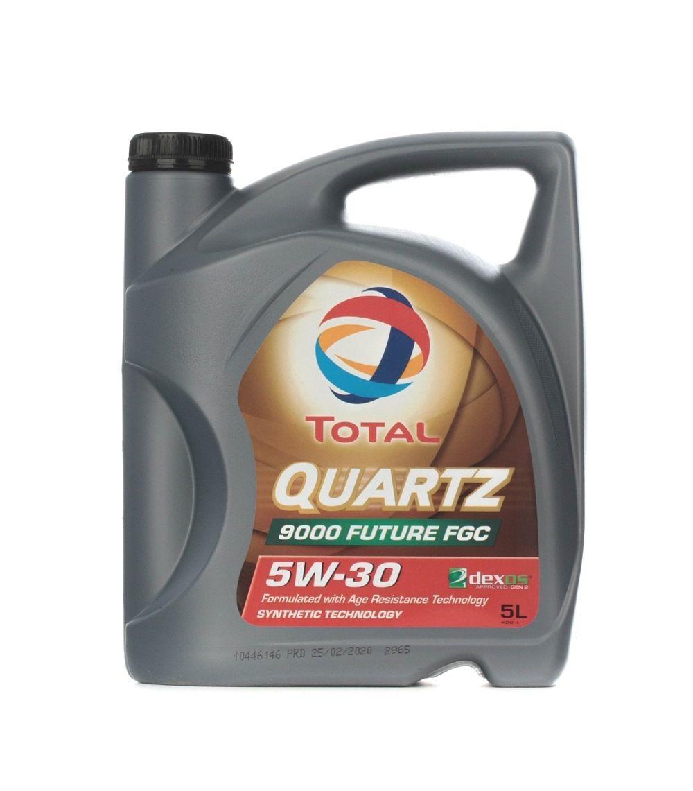 Comprare 2209056 TOTAL Quartz, 9000 Future FGC 5W-30, 5l, Olio sintetico Olio motore 2209056 poco costoso