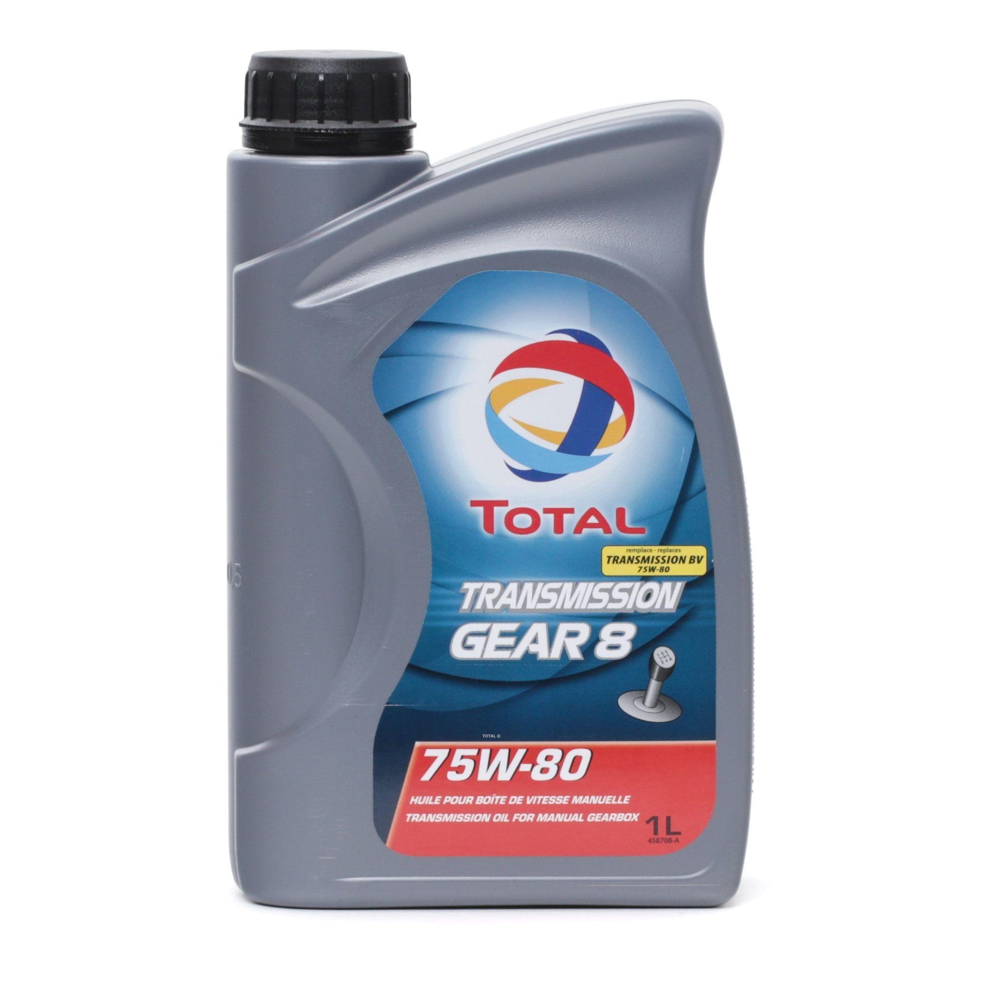 Greičių dėžės alyva 2201278 su puikiu TOTAL kainos/kokybės santykiu
