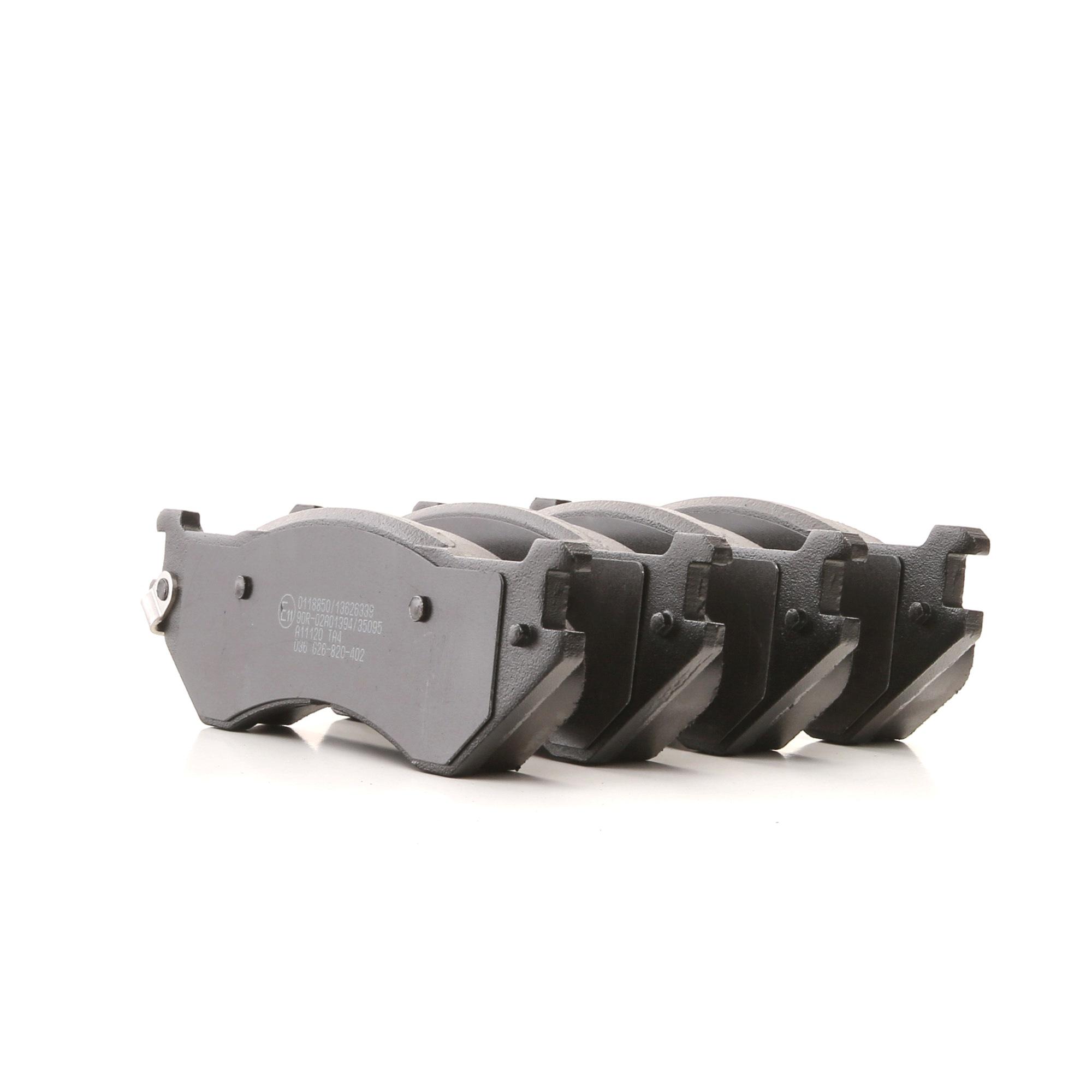 DODGE DURANGO 2018 Bremssteine - Original STARK SKBP-0011891 Höhe: 56,5mm, Breite: 188,5mm, Dicke/Stärke: 16,5mm